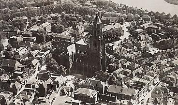Arnhemse binnenstad in 1938